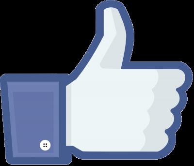 Facebook like duim