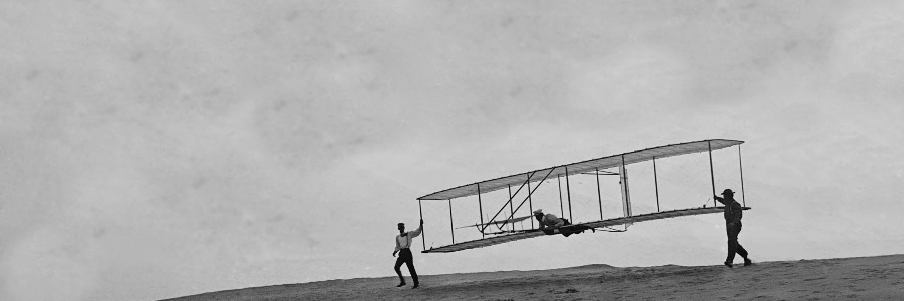 Wright glider 2 verplaatst
