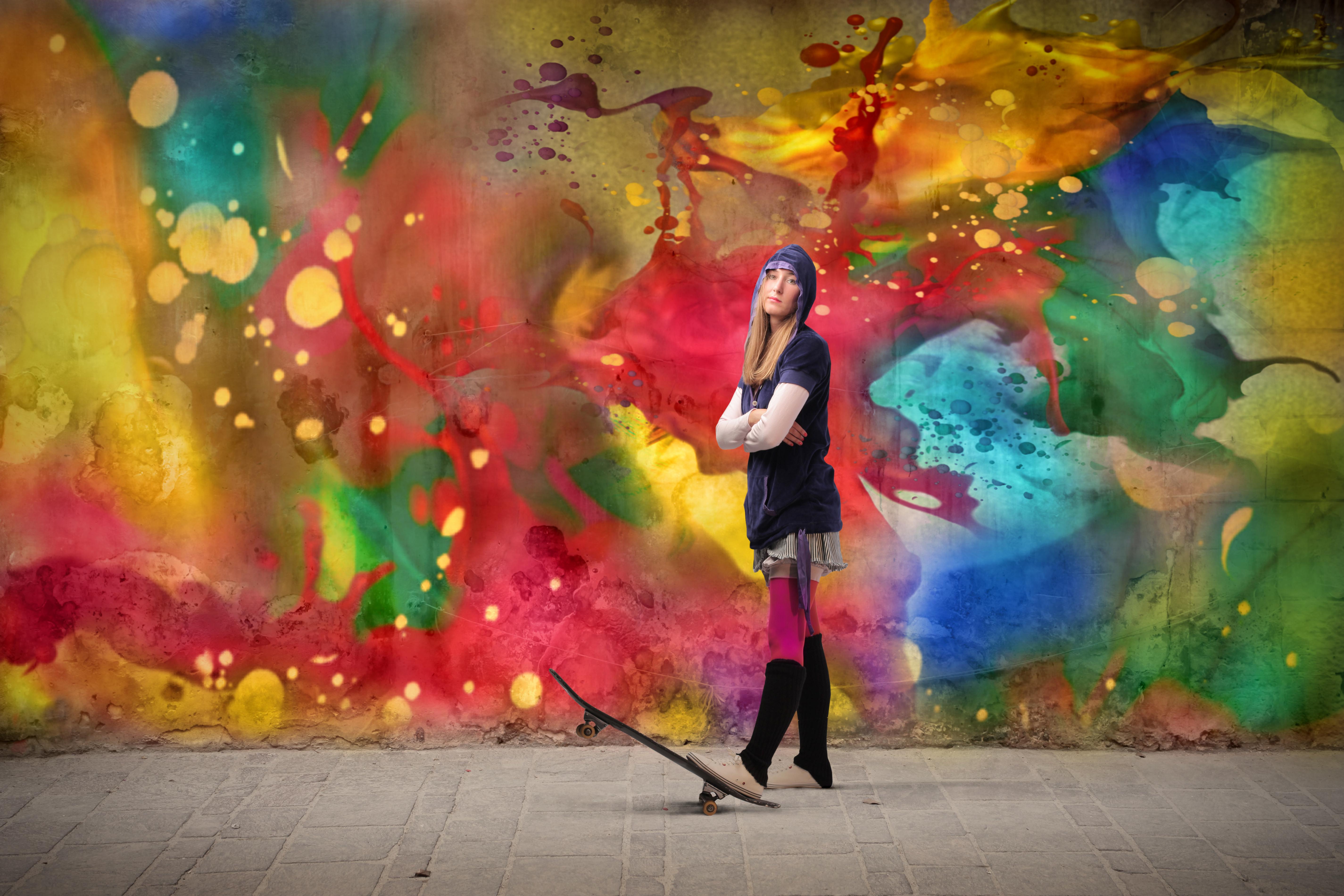 Jonge kunstenaar (SHUTTERSTOCK)